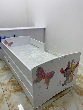 Детская кровать с бортиком Киндер Кул