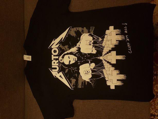 Mettallica koszulka M Cliff Burton nowa