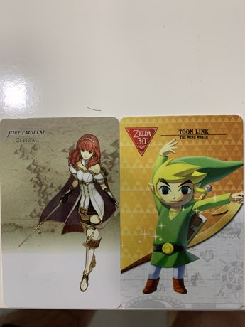 Amiibo cartas fire emblem / link