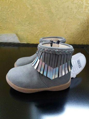 Ботинки сапоги для девочки HM George Next черевики чоботи для дівчинки