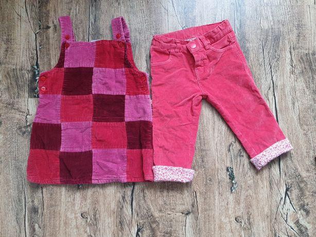 Пакет речей Одяг на дівчинку Сарафан штани 80см