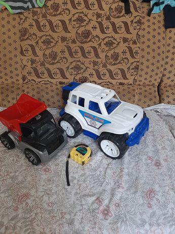 Машинка полицейская детская