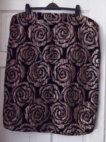 poszewki na poduszkę vintage w róże 60 x 80