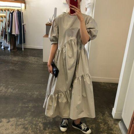 Шикарное платье оверсайз из хлопка Zara, Cos, Oversize