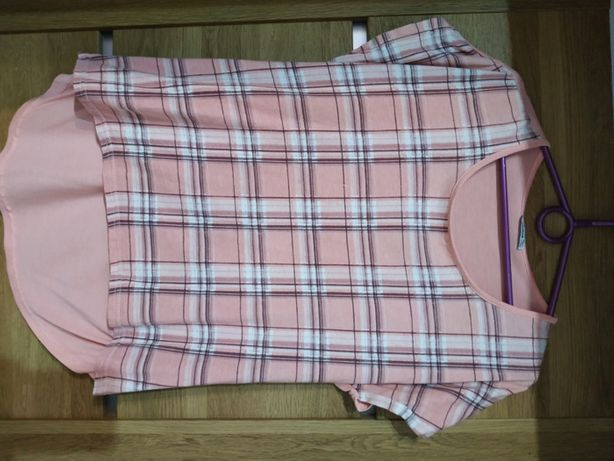 Damska bluzka z krótkim rękawem (M, L)