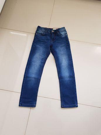 Spodnie jeansowe 134 cm