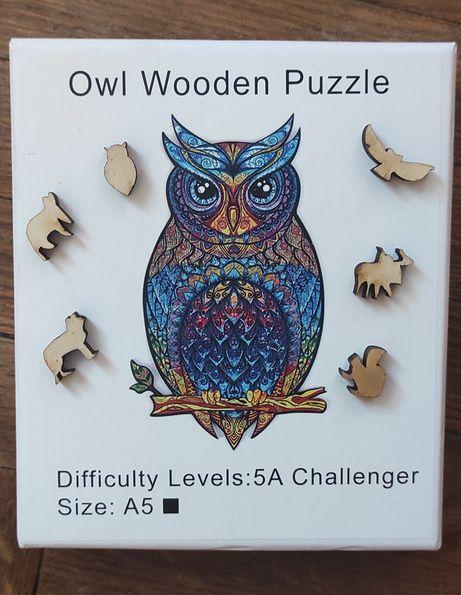Деревянная головоломка для детей и взрослых