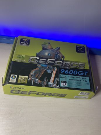 Видеокарта Palit GeForce 9600 GT рабочая