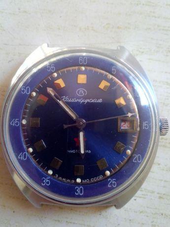 Часы мужские,командирские в раб.состоянии,заказ Мин-ва Обороны СССР