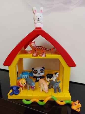Домик Playmobil + животные, ферма, игровой набор, цена за набор