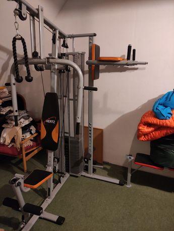 Atlas HERTZ MAXIMUS 4 stanowiskowy stos 65kg domowa siłownia fitness
