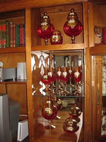 11 Peças Decorativas em Vidro de Murano