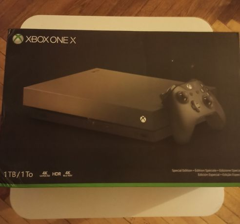 Xbox One X 1 TB Gold Rush