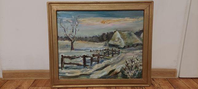 Obraz malowany na płótnie