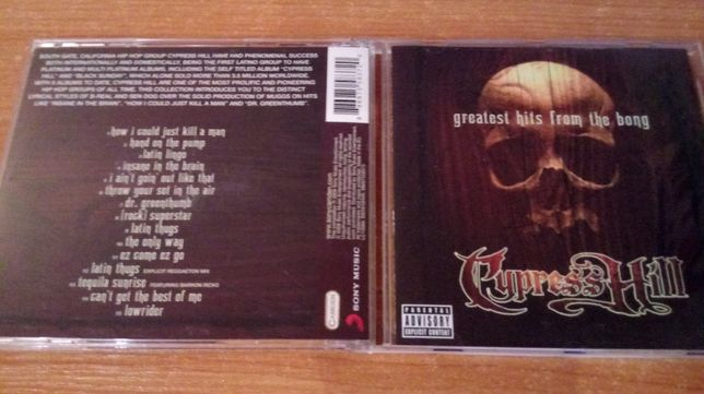 Cypress Hill – Greatest Hits From The Bong CD 2009