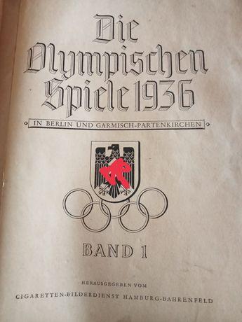 Album niemiecki Olimpiada w Berlinie Berlin 1936 rok Olympus 1936