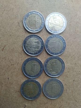 Moedas coleção euro