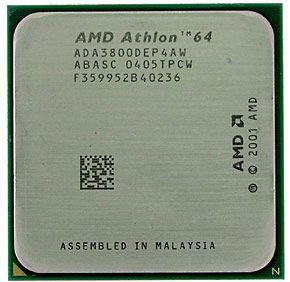 Процессор AMD Athlon 64 3800+ 2.40GHz/512Kb Socket 939