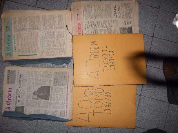 Coleção de jornais A Ordem