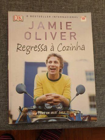 Livro de Receitas Jamie Oliver: Regressa à cozinha