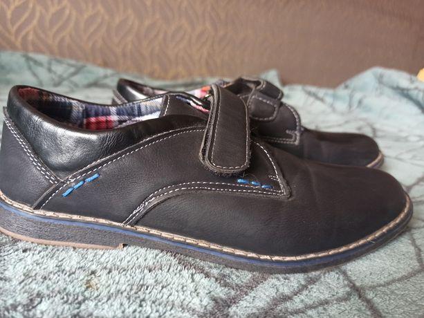 Туфлі на хлопчика, взуття шкільне