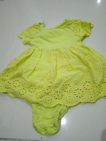 Sukienka dla dziewczynki  hm 56