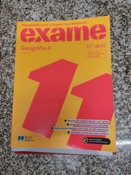 Livro Exames Geografia A 11° Ano