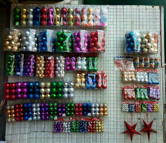 Новогодние шары Елочные игрушки