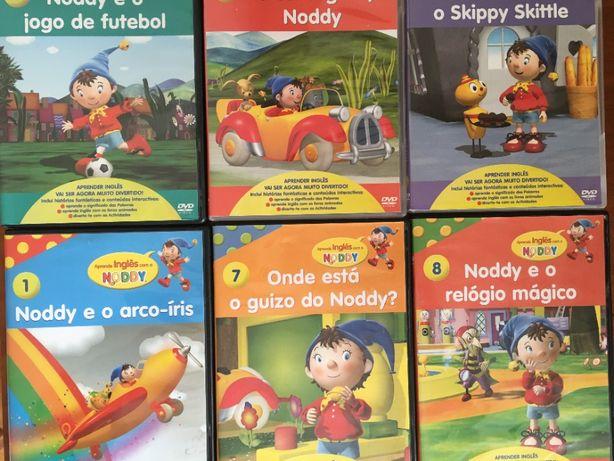 Lote de 6 DVD do Noddy