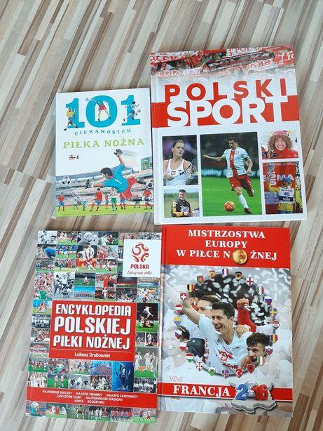 Komplet książek o sporcie