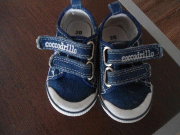 Trampki, buty chłopięce Coccodrillo, rozmiar 20