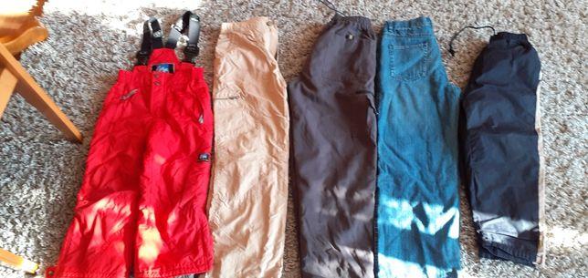 Spodnie ocieplane na śnieg