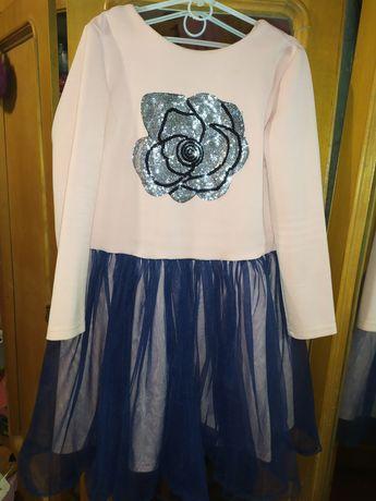 Сукня святкова з фатином