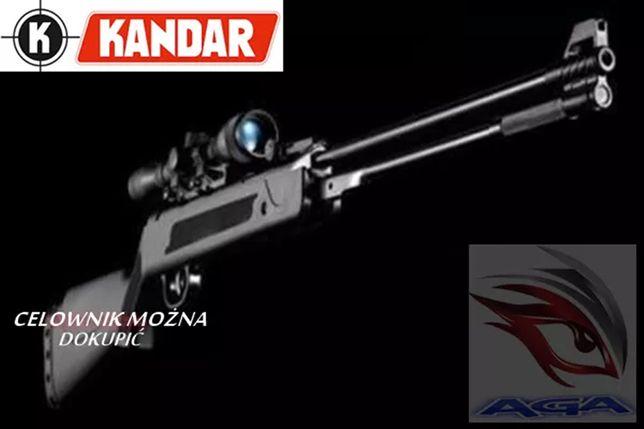Wiatrówka KANDAR WF-600 5,5 BLACK Dolny Naciąg
