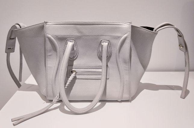 Szara torebka Celine shopper bag