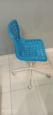 Krzesło obrotowe biurowe dziecięce ikea