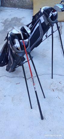 Tacos e sacos de Golf