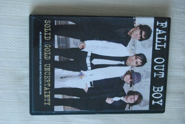 Fall Out Boy*Solid Gold Uncertainty/DVD