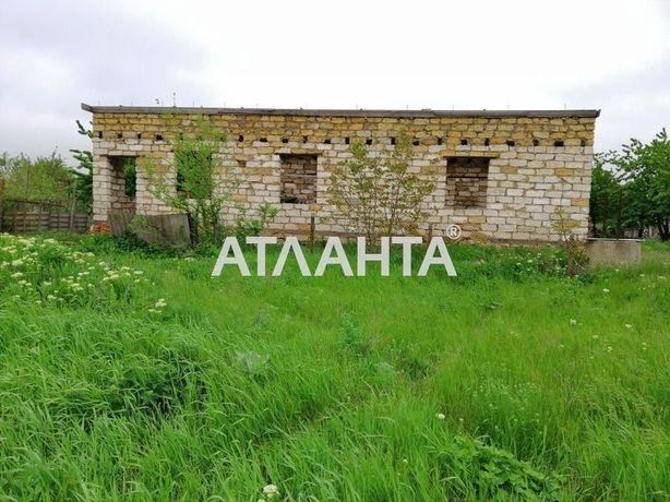 Участок с просторной коробкой дома в удобном районе с. Дачное