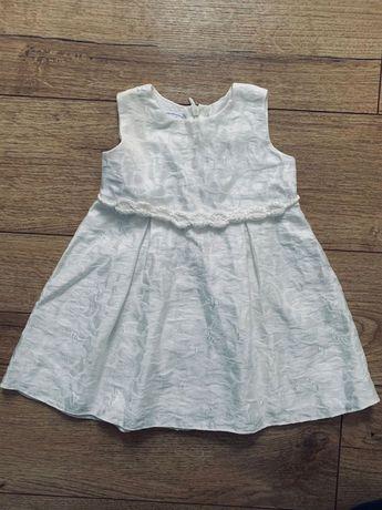 Sukienka abrakadabra chrzciny 68