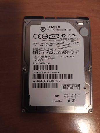Dysk do laptopa 2,5 cala HITACHI 80 GB