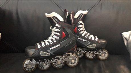 Rolki hokejowe bauer vapor x40 rozmiar 38,5