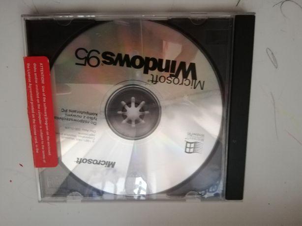 Oryginalna płyta Windows 95 unikat
