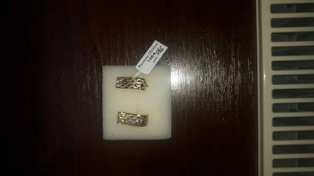 Kolczyki złote 585 2.4 gr