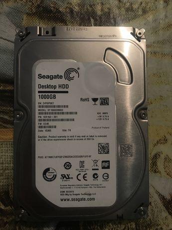 Продам seagate desktop hdd 1000gb