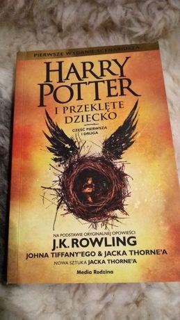 Harry Potter i przeklęte dziecko wydanie scenariusza J.K. Rowling