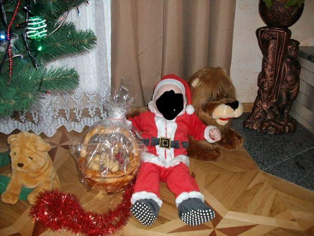 Костюм Деда Мороза  на 12-18  месяцев