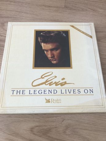 ELVIS the legend lives on ( 8 discos NOVOS ) Collector's Edition