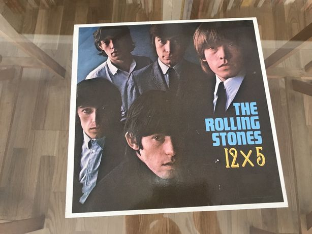 The Rolling Stones 12 x 5 LP Vinil