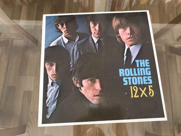 The Rolling Stones 12 x 5 LP Vinil